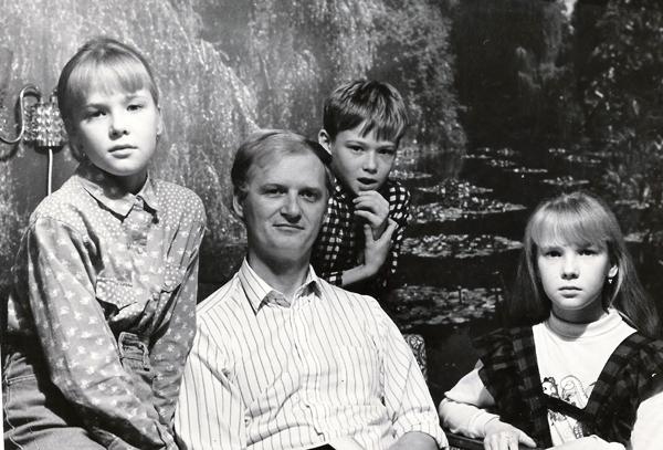 Журналист Сергей Акулич о себе - дети