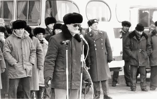 Журналист Сергей Акулич о себе - 1989