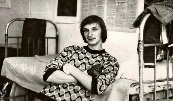 ДВГУ, 1 курс, 1977 г, Олег Кульгин