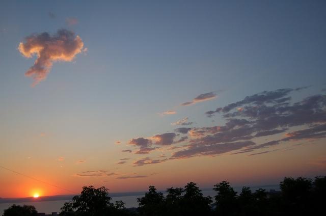 рассвет, Амурский залив, фото
