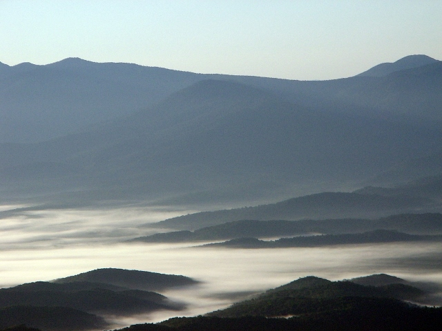 туман, приморье, фото