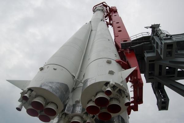 Ракета на старте