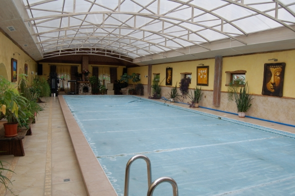 Дома у Цыгановых - бассейн