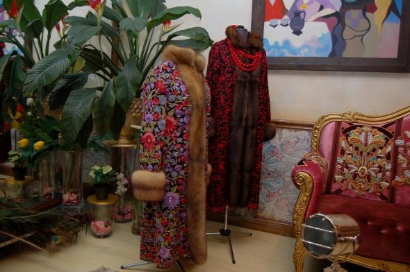Дома у Цыгановых - мастерская дизайнера