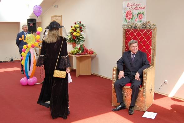 Государь всея Суда Сергей Чумаков. Фото Сергея Акулича
