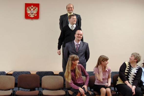 Судейская вертикаль. Фото Сергея Акулича