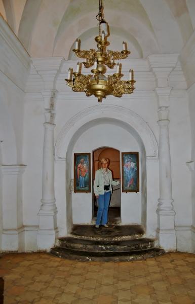 Подземный монастырь, Антониевы пещеры, старый Чернигов