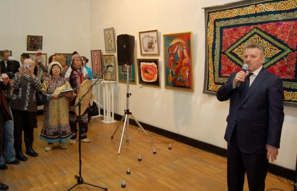 художник Оркина, выставка