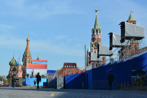 7 мая в Москве. Фоторепортаж Сергея Акулича