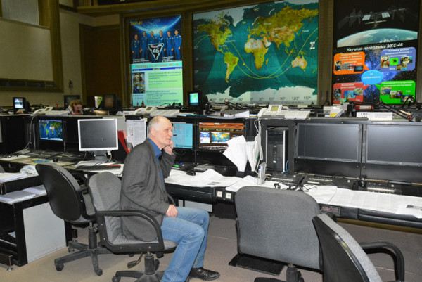 Центр управления космическими полётами в Королёве. Фоторепортаж Сергея Акулича