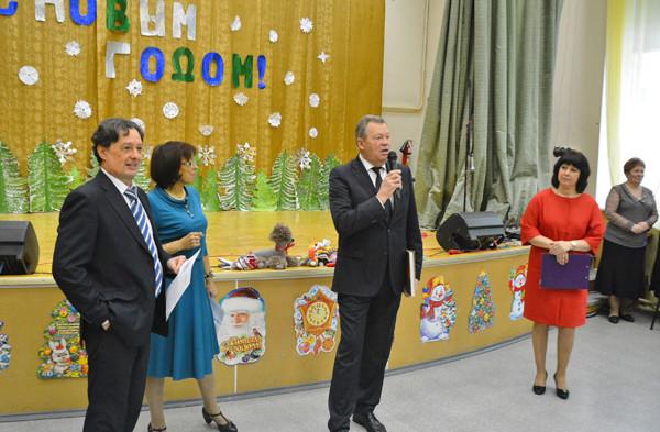Праздник в интернате для незрячих детей г.Королёва. Фоторепортаж Сергея Акулича