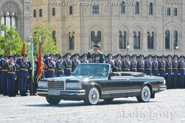 Репетиция парада Победы 7 мая 2016 г. Фото: Сергей Акулич