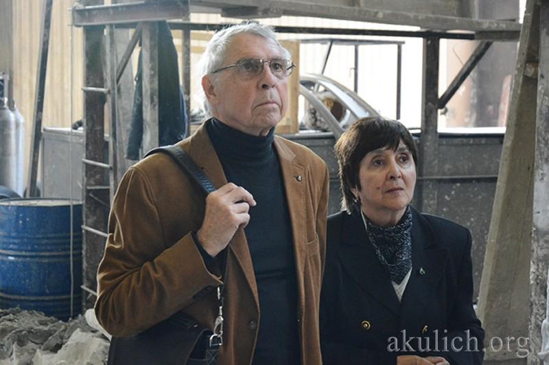 Игорь и Роза Василевские. Фото Сергея Акулича