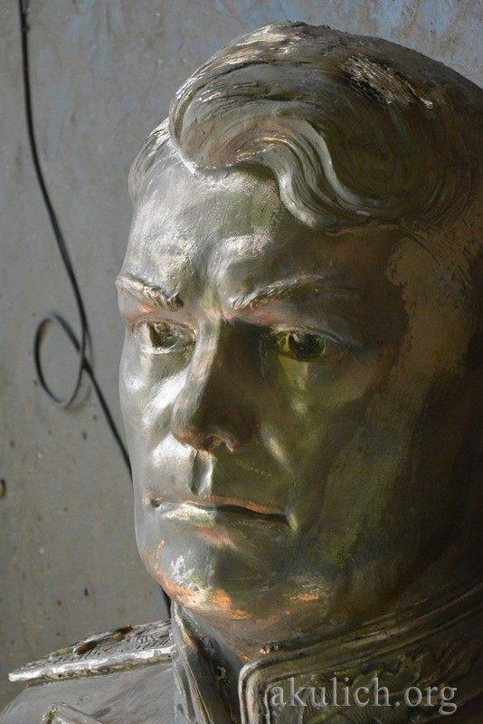 Памятник маршалу Василевскому готов. Фото Сергея Акулича