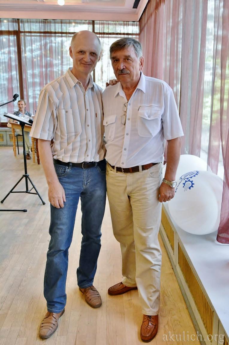 Владимир Чернов и Сергей Акулич