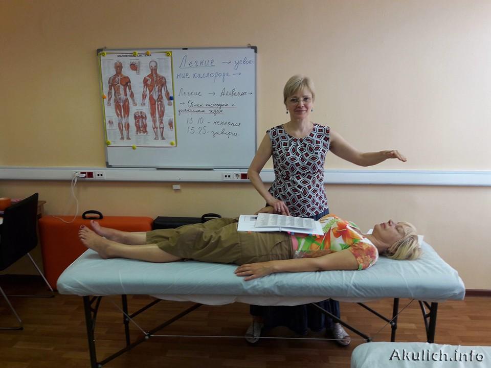 Кинезиология - обучение в Москве проводит Елена Акулич