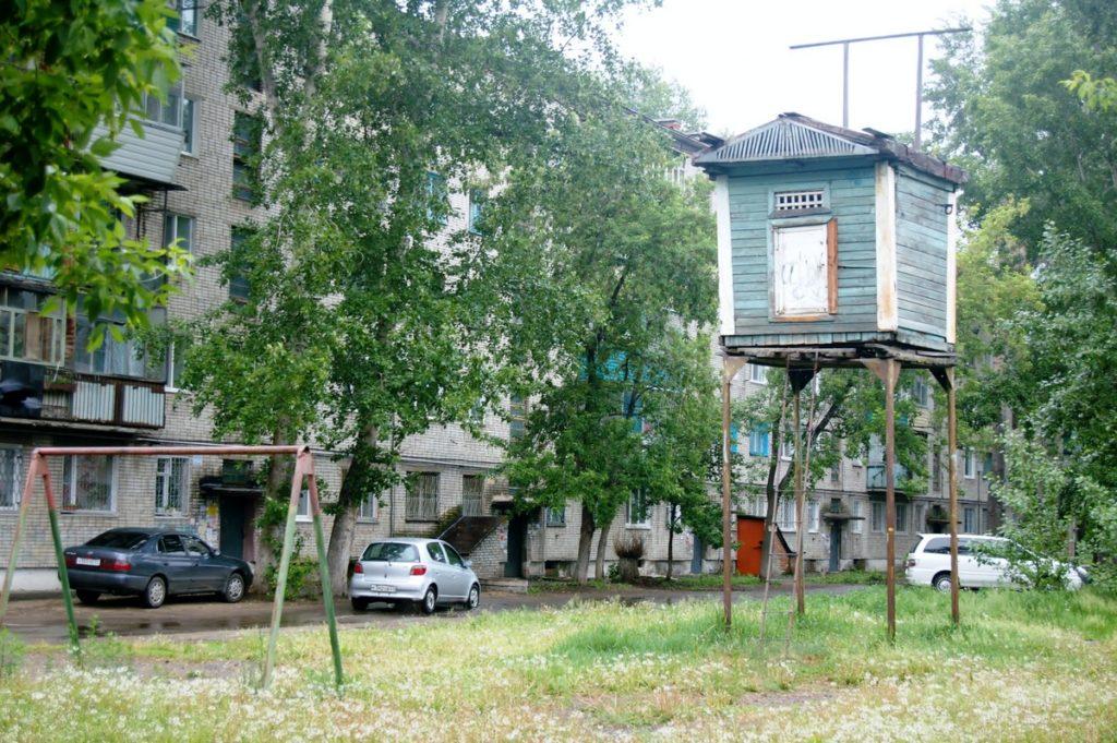 Голубятня в Комсомольске-на-Амуре
